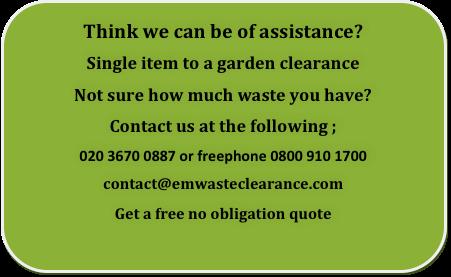 Garden clearance London, Essex and Kent